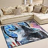 #Teppich #Wolf #Traumfänger #Wohnzimmer  #Schlafzimmer 63x48 Inch (ca. 160x122 cm)  oder 80x58  Inch   (ca. 203x147  cm)