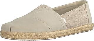 TOMS Women's Classic Glitter Espadrille Wedge Sandal, Size