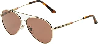 Burberry Aviator Women's Sunglasses - SBUR 3092Q 1145/73 57-57-13-140 mm