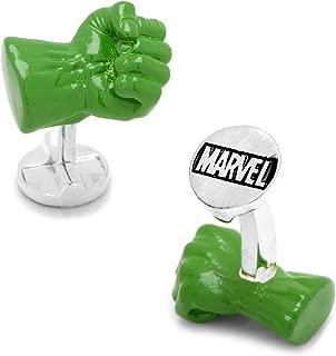 Marvel 3D Hulk Fist Cufflinks, Officially Licensed