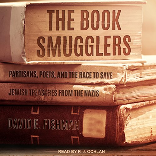 The Book Smugglers audiobook cover art