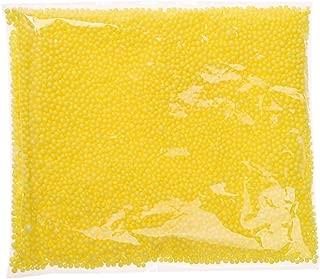 LALANG Mini Styrofoam Balls Tiny Foam Beads for Making School Arts Crafts Supplies (Yellow)