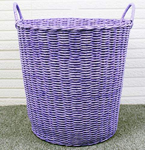 SJHSAIU Opvouwbare wasmand Wasbakken rond zonder deksel, licht, ademend en draagbaar handvat voor toilet/slaapkamer/toilet/wasserij/badkamer