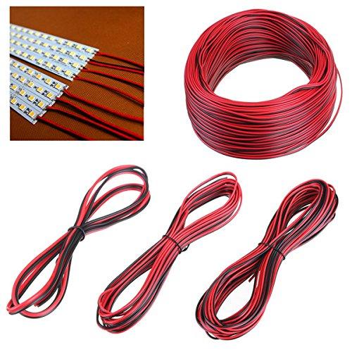 Cable de conector de cable de extensión de 2 pines for 3528 5050 LED luz de tira ILFYJRHD (Size : Length 1M)