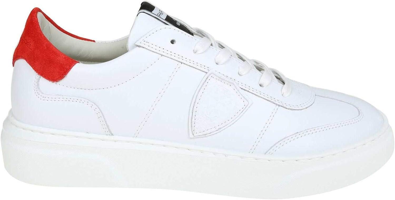 Model BALUV022 Herren Weiss Leder Sneakers B07PN5XBP4