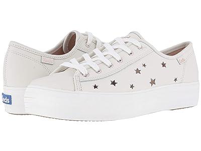 Keds Triple Kick Star Leather (Cream Leather) Women