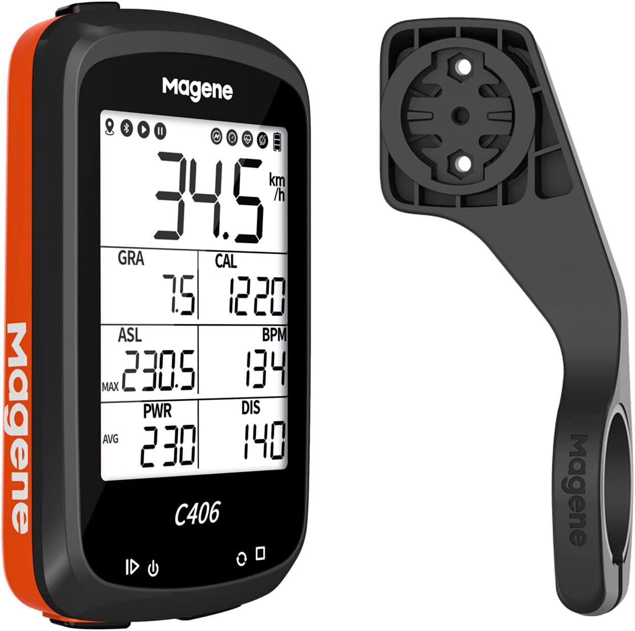 Ranking TOP19 Magene C406 Bike Computer with Waterproof Holder Co Cycling unisex GPS