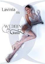 Gatta Wedding Lavinia 06 - gemusterte halterlose Hochzeitsstrümpfe