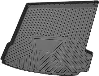 Cqlights X6 Cargo Liner for 2015-2018 2019 BMW X6 E71 Trunk Liner Tray Heavy Duty Rubber Rear Cargo Area Mat Waterproof Protector Floor Mat Black