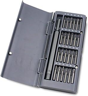 Screwdriver Set 24-IN-1 Multifunctional Mobile Phone Tablet Pc Repair Tools Precision Screwdriver Tools Kit (Color : Gray)
