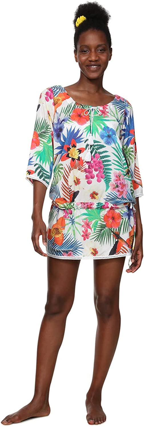 Desigual Womens Top_minowa Swimwear CoverUp