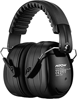 Mpow 035 Noise Reduction Safety Ear Muffs, Shooters Hearing Protection Ear Muffs, Adjustable Shooting Ear Muffs, NRR 28dB ...