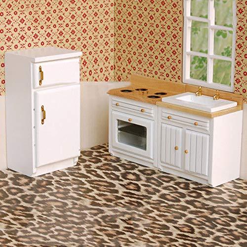 AVANI EXCHANGE Muebles Cocina Miniatura Nevera Nevera