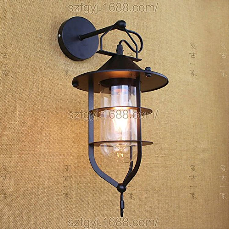 StiefelU LED Wandleuchte nach oben und unten Wandleuchten Rh Antiquittenlden der Kunst restaurant Szene Edison die Glühbirne Flte Dekorative Wandleuchte