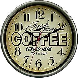 Mainstays Fresh Brewed Coffee Wall Clock