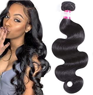 Pretty Coco 8A one bundle 22 inch Bundle Hair Brazilian Body Wave Bundles Brazilian Virgin Hair Body Wave Super Soft Unprocessed Human Hair Tangle Free