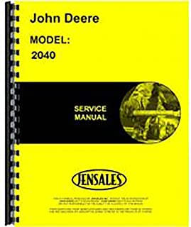 New Service Manual for John Deere 2040 Tractor