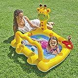 HOUCONG Aufblasbare Pools für Kinder Kinder Baby-Pool, Garten Badewanne große Kunststoff, Schwimmbad Kinder Pool Schwimmen Giraffe