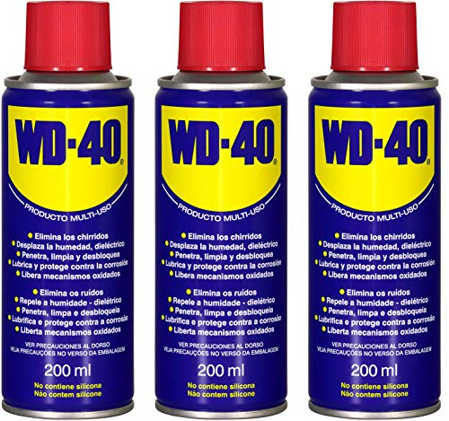 WD40 200 ML (200 ML Pack 3 unidades)