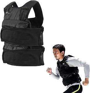 FIELDOOR ウエイトベスト 最大20kg 1kgから20kgまで重量調節可能 加重ベスト ウエイトジャケット