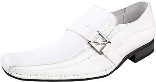 حذاء كلاسيكي رجالي من Delli Aldo M-19231 بدون كعب ببطانة جلدية