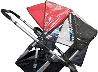 UPPAbaby Rumbleseat Rain Shield, Clear (Older Version) (Discontinued by Manufacturer)
