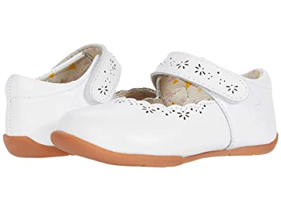 Livie & Luca Lily ll (Infant/Toddler) (Bright White) Girl