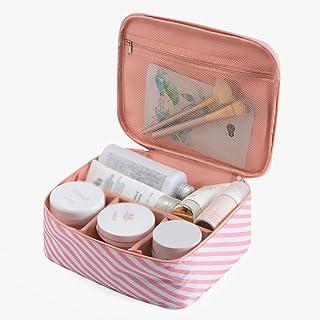 CAICOLOR コンパクトサイズ旅行トイレットバッグ防水、女性のための旅行ウォッシュバッグ、高品質のジッパー、ギフトとしてポータブル、様々なパターンが利用可能 (パターン : 3)