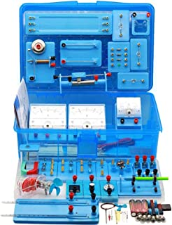 Physics Electric Circuit Learning Starter Kit Science Lab Basic Electricity Magnetism Experiment Education Kits for Kids J...