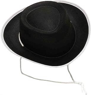 Forum Novelties Costume Accessory Child Size Cowboy Hat, Black