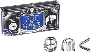 The Einstein Collection E=Mc² Metal Puzzles - Metal Entanglement Puzzle/ Interlocking Brain Teaser - Professor Puzzle 3D Brain Teaser puzzles