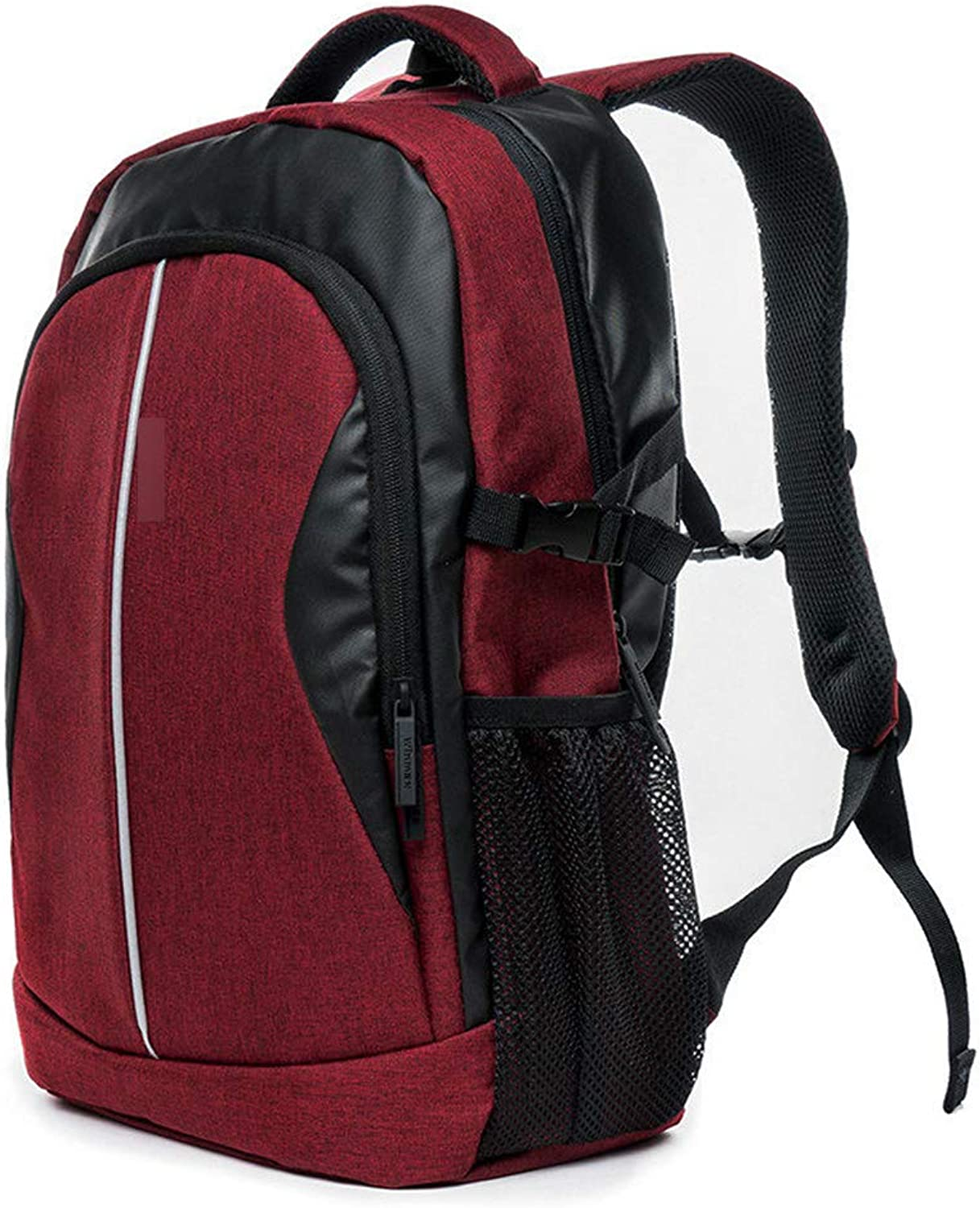 JITALFASH 30L Outdoor Bag Sport Backpack Many Pockets Men Travel Pack Bag Women Backpack Camping Hiking Cycling Rucksack School Bag Red OneSize