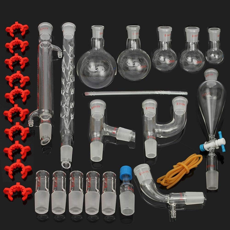 Organische Chemie Laborglas Instrument Set Set Set Industrie Wissenschaft Ätherisches Öl Alkohol Destillationsbehälter Reinigungsgerät Unterrichtsmaterial B07NPMCFRP | Creative  5ff237