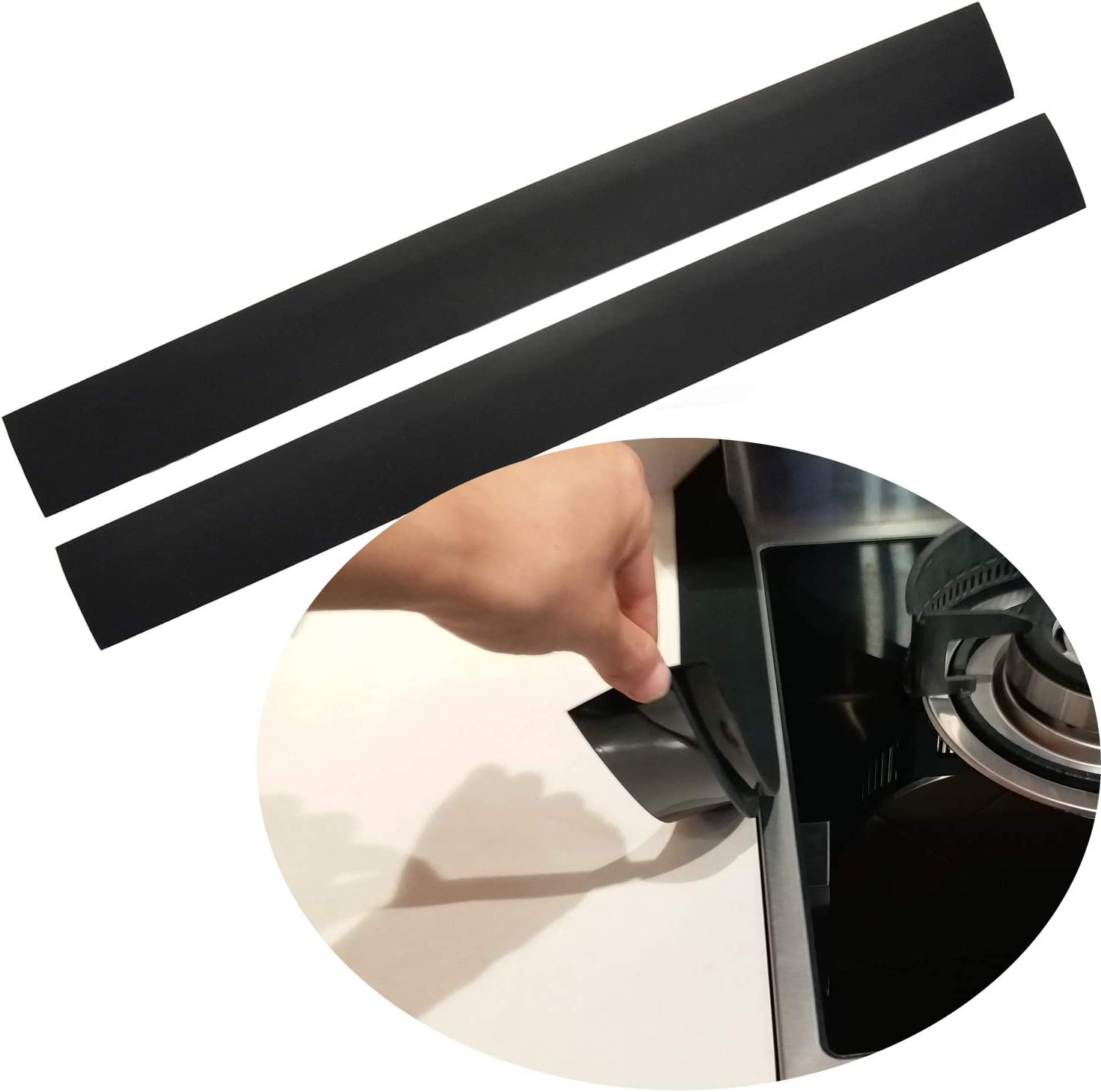 Silicone Stove Counter Gap Cover Kitchen Now Fashion on sale Filler K by
