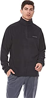 Columbia Western RidgeTM Half Zip For Men, Size XXL (Black) (191454861276)