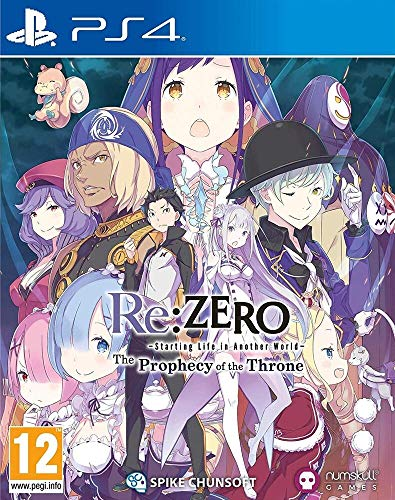 Re: Zero - Starting Life In Another World: The Prophecy Of The Throne Limited Edition