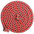 Just Jump It Red Confetti 8' Jump Rope - Single Jump Rope - Agility Play