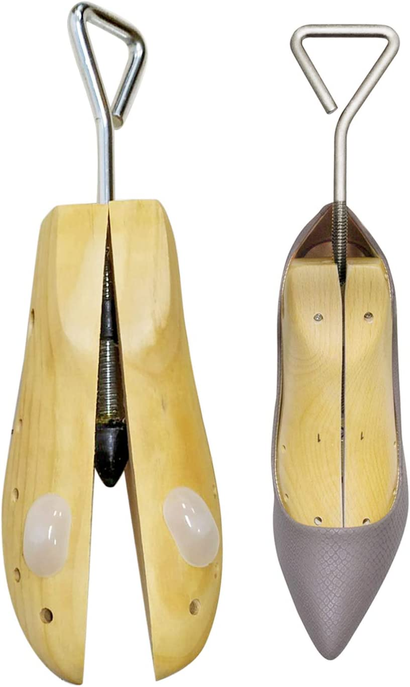 Home-X Women's NEW before selling Small Wooden Boot Stretcher Shoe Challenge the lowest price of Japan and Tool