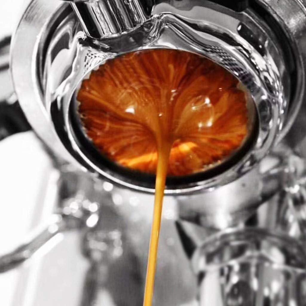 Ydhsja Porte-Filtre pour Cafetière 54mm Porte-Filtre Bottomless Portafilter for Breville 870/878/880 Percolateur 3