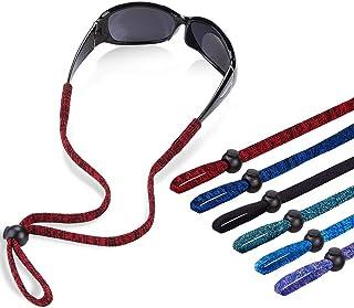 Glasses Lanyard, Adjustable Eyeglasses Holder Strap Neck Cord for Men Women Kid, Safety Eye Glasses Retainer Rope Camo Sun...