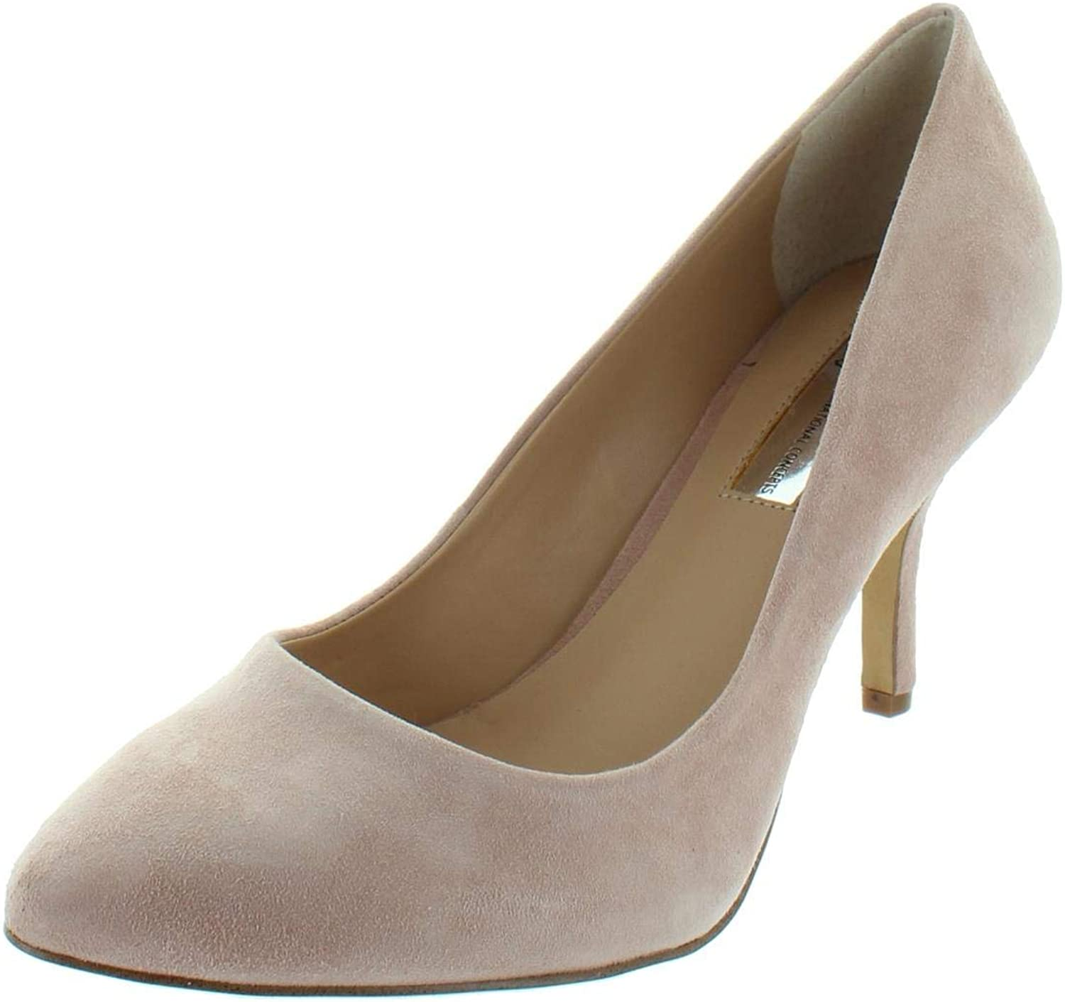Inc Womens Zitah Solid Almond Toe Pumps