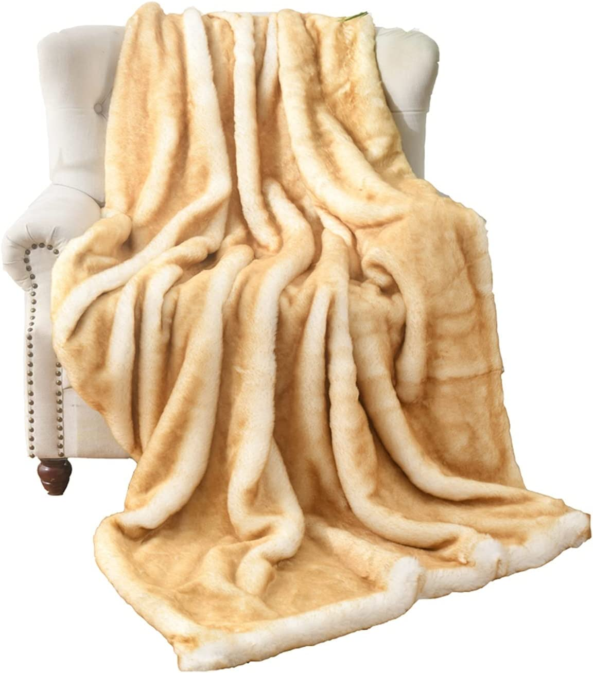 Household Warm Blanket Luxury Special sale item Faux Fur Hair Blankets Soft W Long New life