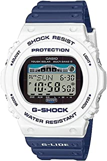 Casio G-Shock Men's G-Shock Digital G-Lide Tide Solar Powered Watch GWX5700SS