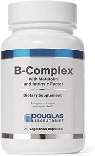 Douglas Laboratories - B-Complex w/ Metafolin - Supports Blood Cells, Hormones, and Nervous System* - 60 Capsules