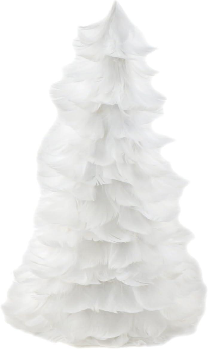 Natural Festive Feather shop Christmas Tree - or White Farmhouse 12
