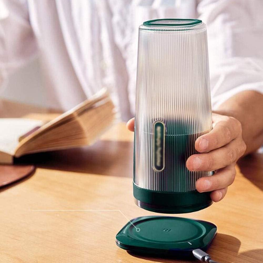 BLENDER RDJSHOP Licuadora Personal Exprimidor portátil Taza Batidora eléctrica de Frutas Batidora de Jugo USB Multifuncional Recargable 300 ml (Color : D) D