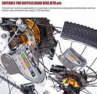 YLWSDDD Motorcycle Anti-Theft Lock Disc Brake Anti-Theft Lock Motorcycle Super B-Class Lock Core Anti-Theft Lock Burglar Alarm