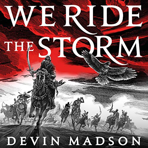 We Ride the Storm audiobook cover art