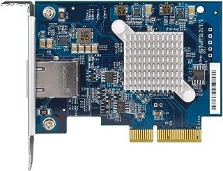 Qnap QXG-10G1T 单端口 (10Gbase-T) 10GbE 网络扩展卡,PCIe Gen3 x4,预装载低调平全高支架