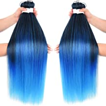 Pre-stretched Ombre Jumbo Braiding Hair Extensions Easy Braids Hair Hot Water Setting flame-retardant synthetic fiber Corc...